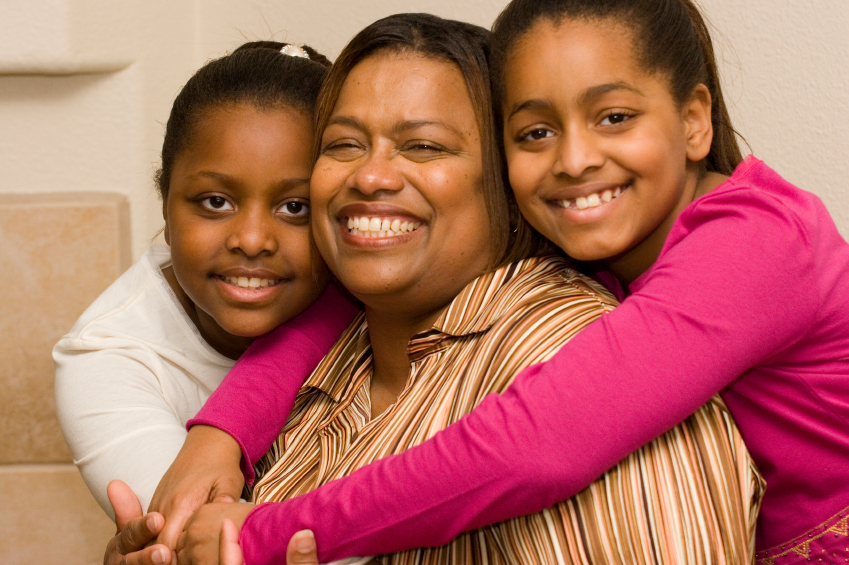 Kinnections African American Mom Daughters